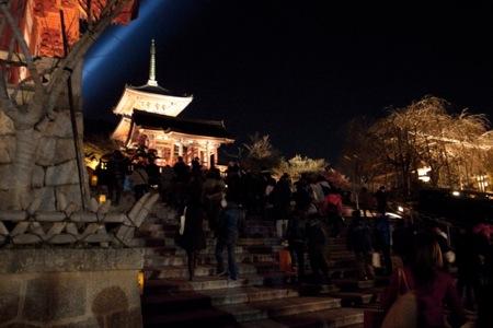 京都の夜の写真